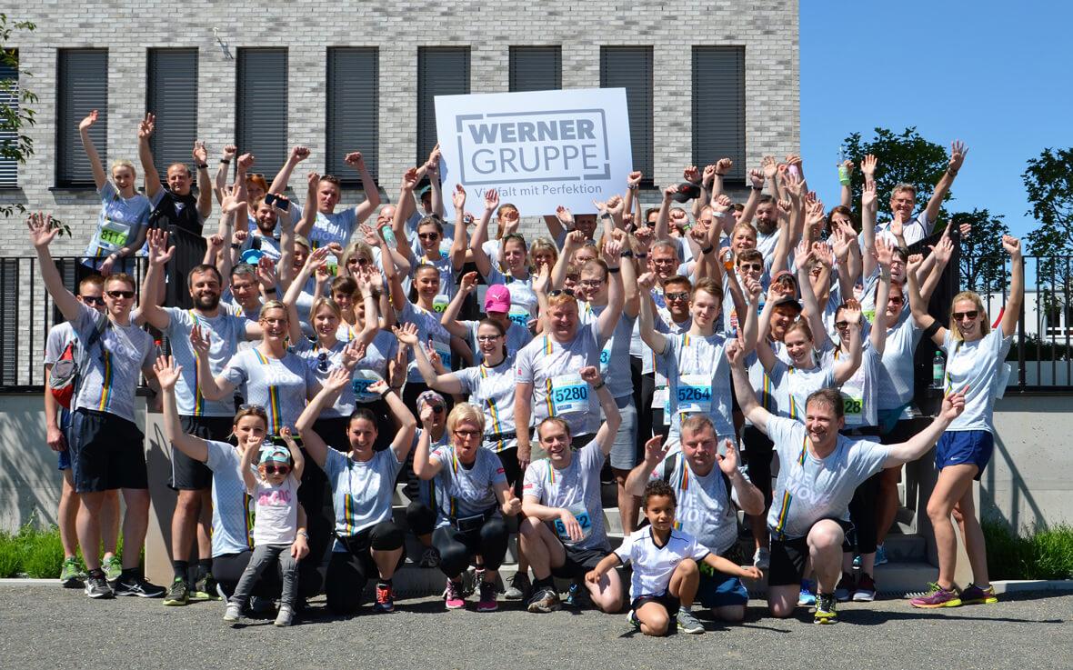 Werner Gruppe - Challenge Lauf